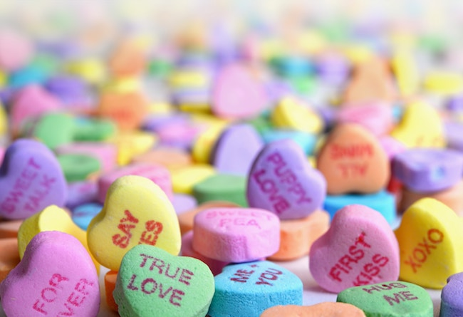 Candy Hearts, Lonely Hearts, And True Love