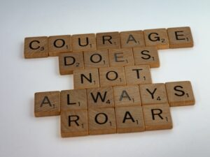 see your courage